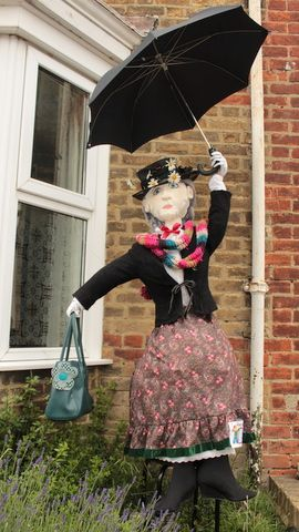 Mary Poppins scarecrow