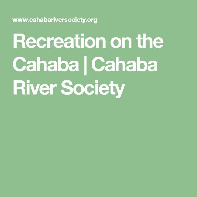 Recreation on the Cahaba  |  Cahaba River Society