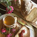 Treccia di pane al latte e miele di Sulla. Cominciare bene la giornata con una sana colazione