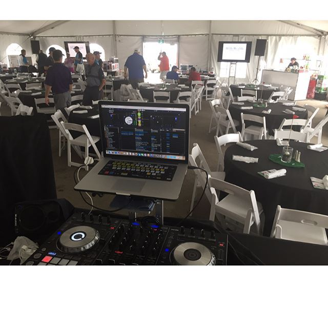 'My #DJ desk today. Had a great time playing the #marquee #theatre charity #golftournament and #luncheon courtesy of @magenboys #entertainment! . . . #mbelife #toronto #yyz #djlife #eventprofs #eventplanner #golfcourse #igerstoronto #magenboys #torontoevents #blogto #mbe #igtoronto #lovemyjob #corporateevents #toronto_insta #djlife #the6ix #event #golf #corporateevent #eventplanning #torontoblogger #yyz #torontolife #torontoigers #the6ix' by @garrickthedj. What do you think about this one?…