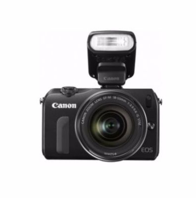 Canon® EOS M with EF-M 18-55mm f/3.5-5.6 STM and Flash Kit $449.99  #SEARSBACK2CAMPUS