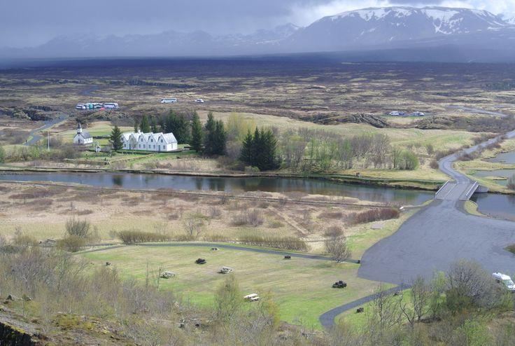 Natur i Island.