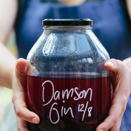 Damson or Sloe Gin Recipe | The Modern Preserver | Christmas Cocktail recipes…