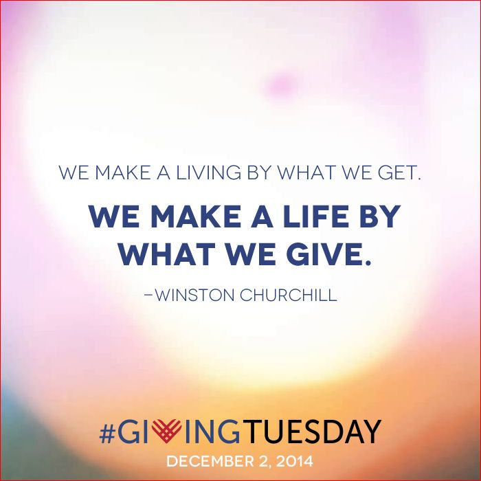Giving Tuesday is here! How will you give today? — Chelsea Fielder-Jenks Professional Counseling