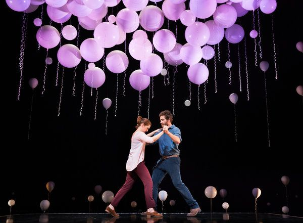 What a gorgeous set. Wish I could see this. 'Constellations,' With Jake Gyllenhaal and Ruth Wilson, Opens on Broadway - NYTimes.com