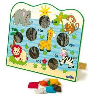 Tivolispel - träffa hålen - perfekt till barnkalaset i gruppen - Uteleksaker hos Blå Elefant - Blaue Elefant (leg-7730)