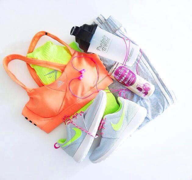 nike | Sports bra | fitness apparel | Tights | Gym clothes | running gear #nike http://www.FitnessGirlApparel.com