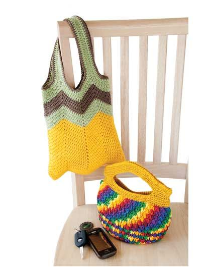 Colorful Purses to Crochet