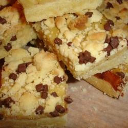 Home user emrocks' Caramel Chocolate Slice will not disappoint.  Biscuit base topped with a caramel sauce and chocolate chips.  @allrecipes.com.au