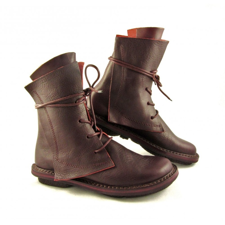 Trippen  Rectangle Lace Up Boot