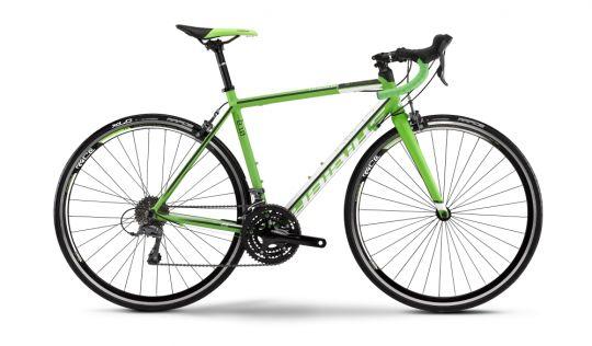 #Haibike Race 8.10 este o #cursieră recomandată antrenamentelor de weekend cu prietenii sau pentru fitness, ce sigur se va face remarcată prin aspectul său special. Performanța nu este nici ea neglijată pentru segmentul ei, #bicicleta fiind echipată cu grupul #Claris de la #Shimano.