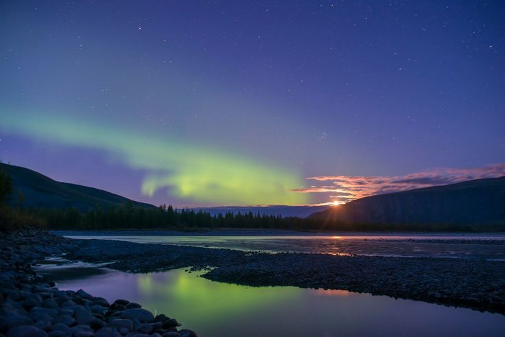 Indigirka River, Republic of Sakha (Yakutia), Russia