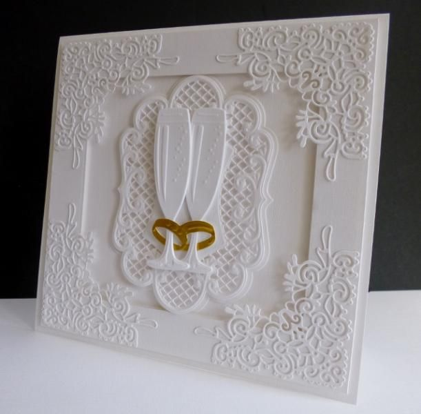Wedding Rings - Marianne and Tattered Lace Dies