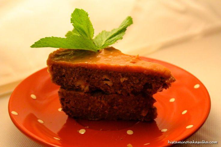 Pohankový dort s rynglovým agarem