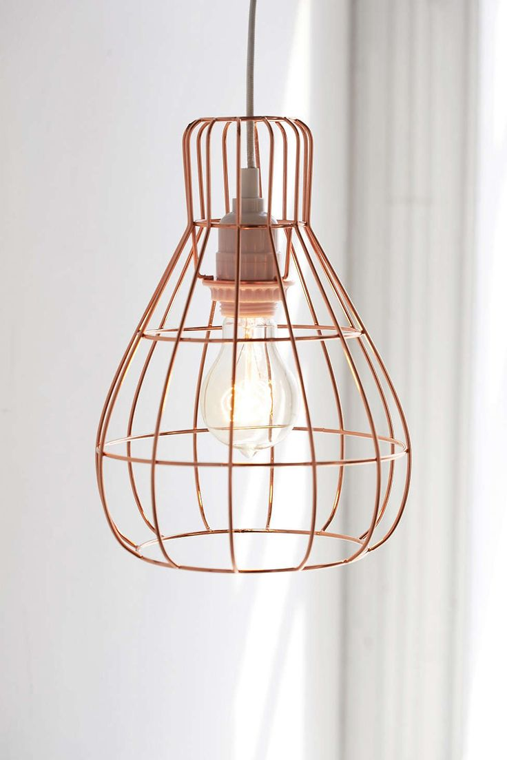 Caged Pendant Light #UOonCampus #UOContest
