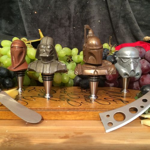 Picnic in Style with STAR WARS Cheese Knives and Wine Stoppers