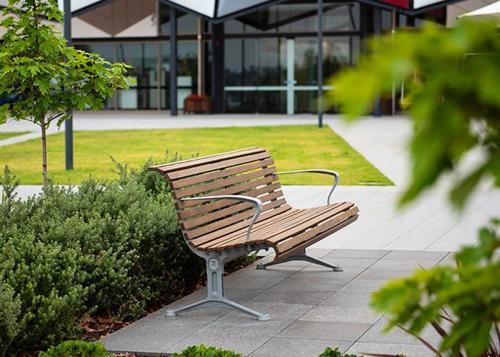 Oran Park Library In 2020 Street Furniture Outdoor Chairs Park