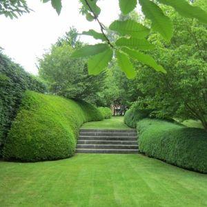 Tuin- en landschapsarchitect Patrick Verbruggen ontwerpt tijdloze tuinen waarbij landschap en architectuur centraal staan.