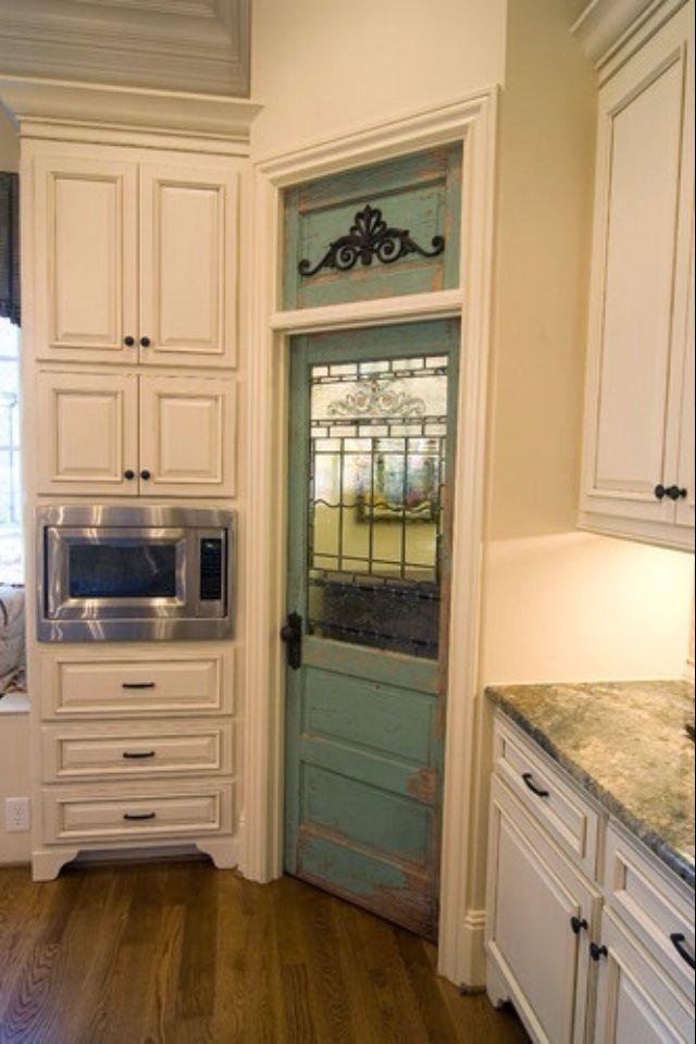 Front Door As A Pantry Door