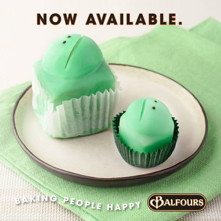 Balfours frog cakes