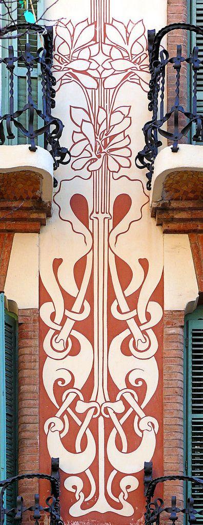 Barcelona - Or 044 f   Modernisme  Catalonia
