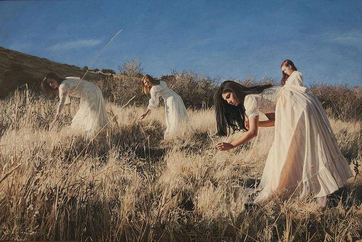 Женские образы на гиперреалистичных картинах художника из Нью-Йорка – ИнфоМания