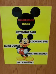 Mickey Mouse Classroom on Pinterest More