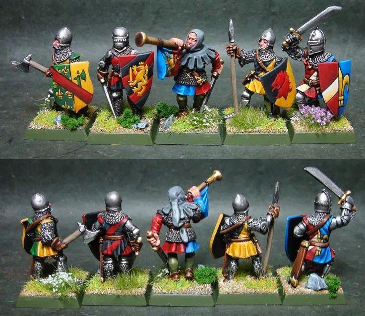 chevaliers+à+pied+1.jpg 819×710 pixels
