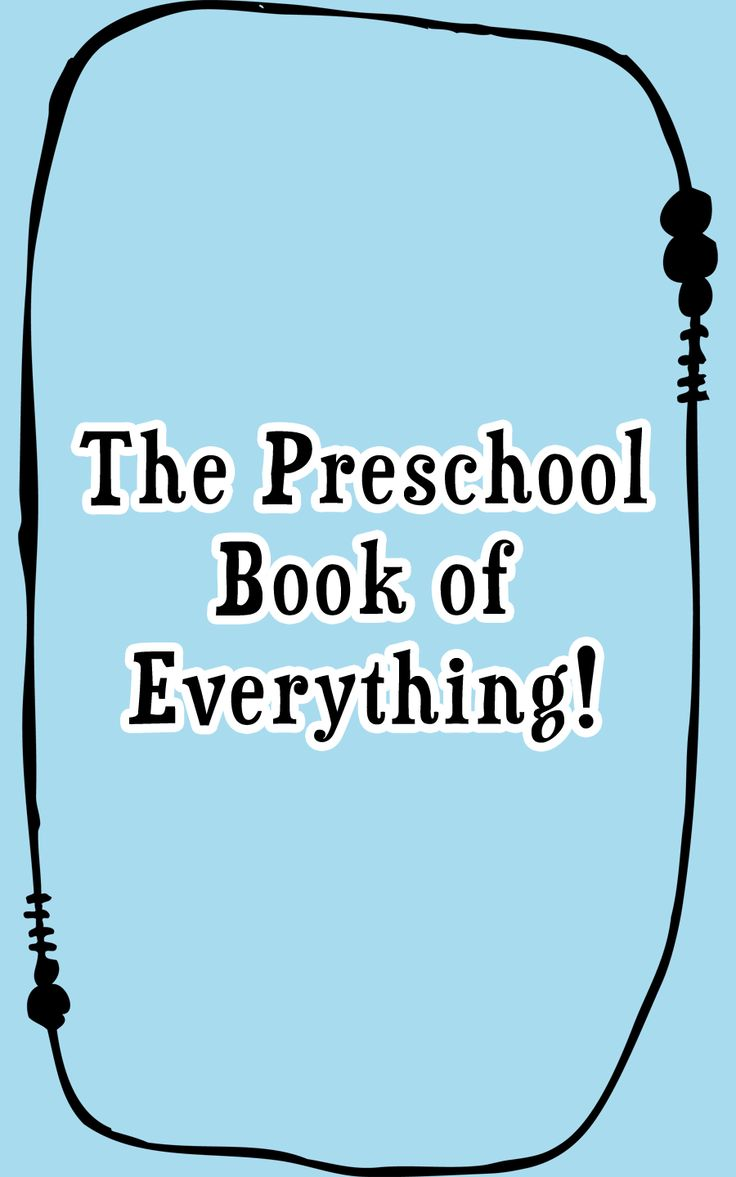 The Preschool Book of Everything!