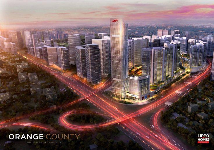 Orange County at Lippo Cikarang (322Ha) New Modern City at Lippo Cikarang
