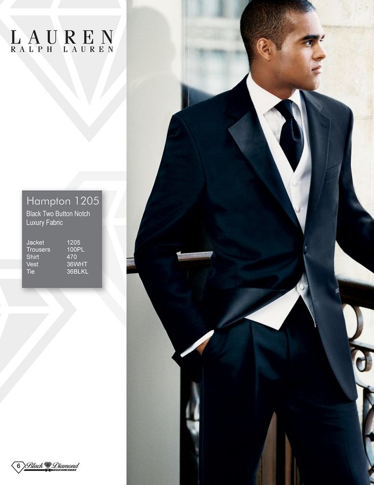 Ralph Lauren Hampton Two Button Notch Luxury Fabric