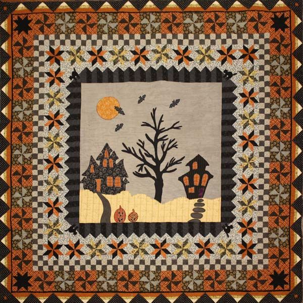 halloween quilts common threads quilting for reproduction fabrics quilts and kits in - Halloween Rug