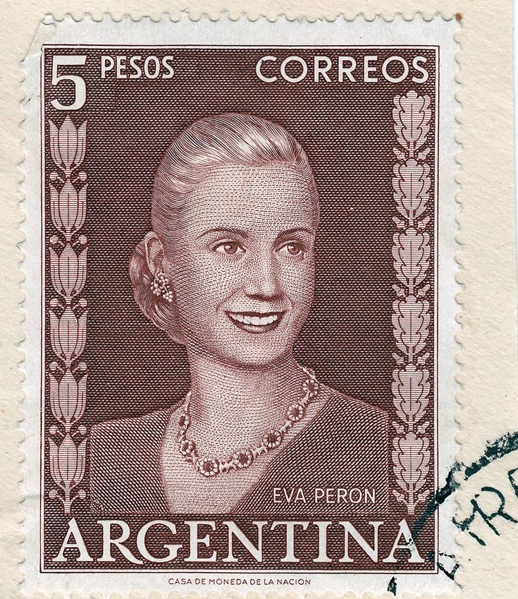 The Eva Peron Stamp: To Mark Or Not To Mark!