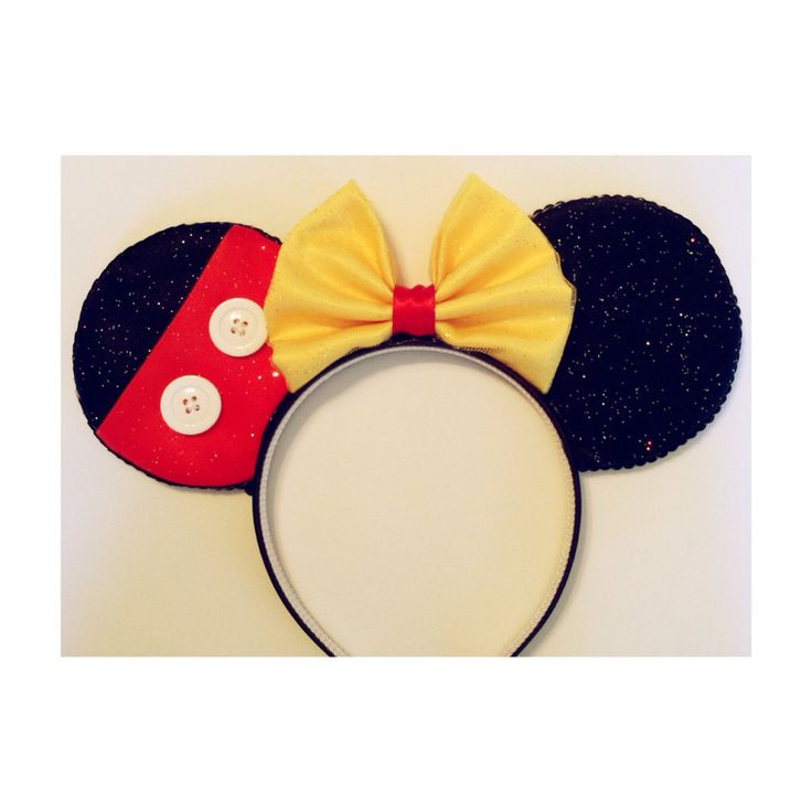Mickey Mouse Themed Custom Ears... sorry for all the new boards I can't sleep...