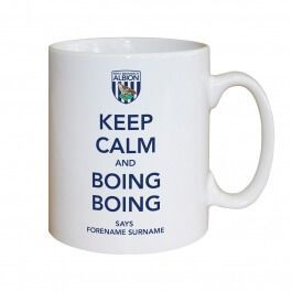 Personalised West Brom Keep Calm Mug  FromToffs LTD  £9.95