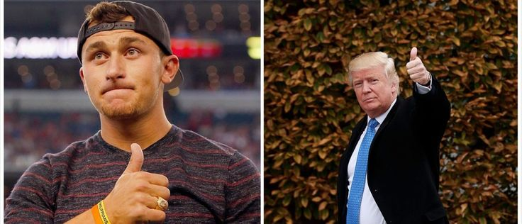 Everybody Is Talking About What Johnny Manziel Tweeted Donald Trump