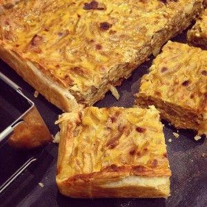 Tarte aux oignons caramélisés - Papa en Cuisine