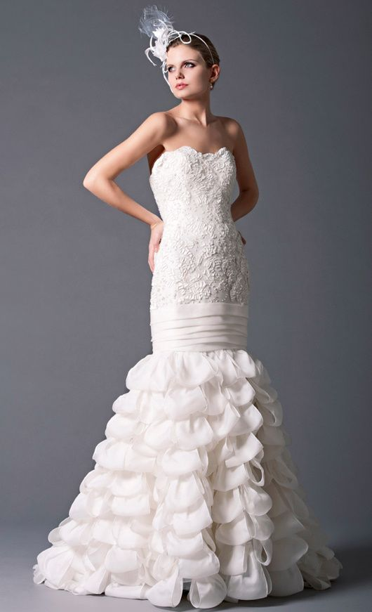 paris couture wedding gowns   PETER LANGNER BRIDAL COUTURE COLLECTION (BERLINO, PARIS, MADRID)