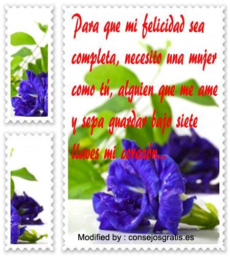 Frases y mensajes románticos,enviar originales mensajes de amor :http://www.consejosgratis.es/palabras-bonitas-para-una-mujer-especial/