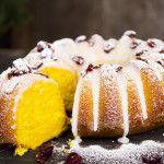 Mjuk saffranskaka med glasyr och aprikos « Saltå Kvarn