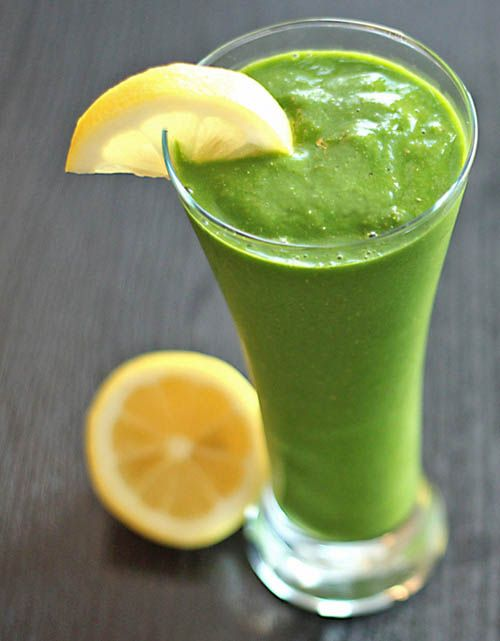 Peach Green Superfood Smoothie by letstalkfitness #Green_Smoothie #Superfood