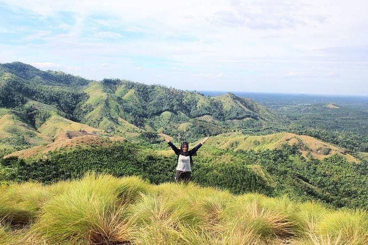 Puncak Bukit Batubara Linggapura Spot Wisata Favorit Anak Muda Lampung - Lampung