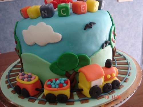 torta trenino