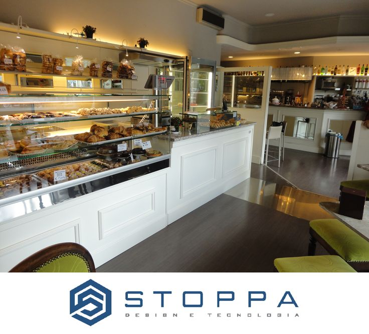 Bar Chantilly in Tourin by Stoppa Design e Tecnologia  The Best Kitchen Equipment for your Ice-Cream Shop.