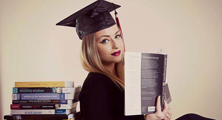 Grad inspiration, photoshoot, books, success