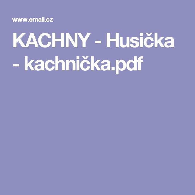 KACHNY - Husička - kachnička.pdf