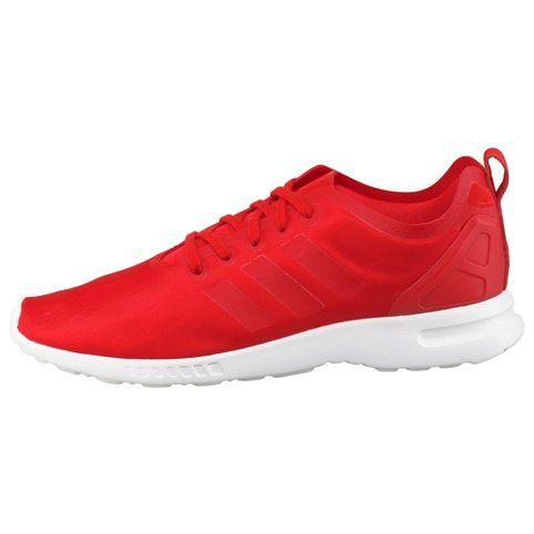 Tennis adidas Originals ZX Flux Smooth W femme - Rouge- Vue 1