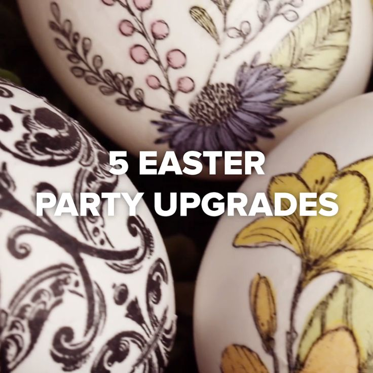 5 Creative Ways To Dye Eggs #easter #DIY #creative #decorating #holiday