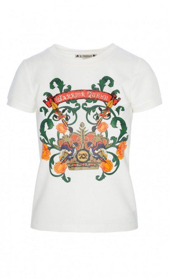 ¿Te gusta #vestir a la #moda? 😍 Te gustará entonces este #top con #escudo #crudo de #HighlyPreppy. Visita nuestra #tienda #online