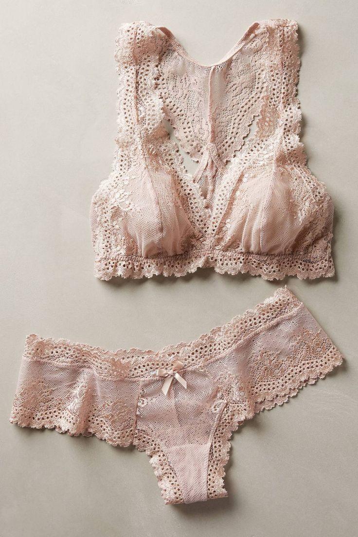 Colette Boythong by Eberjey #anthrofave #anthropologie - lingerie womans, sleepwear lingerie, european lingerie *ad